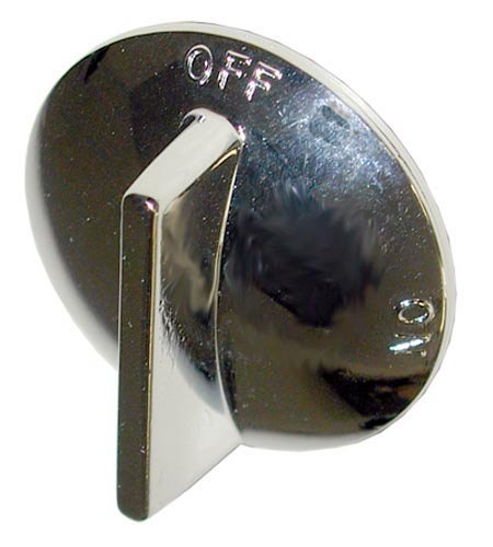 Bakers Pride Chrome Knob
