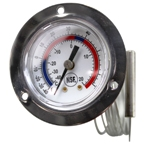 Analog Thermometer, 2 inch Dial