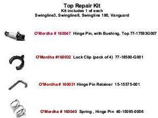 Ardco Door Top Repair Kit