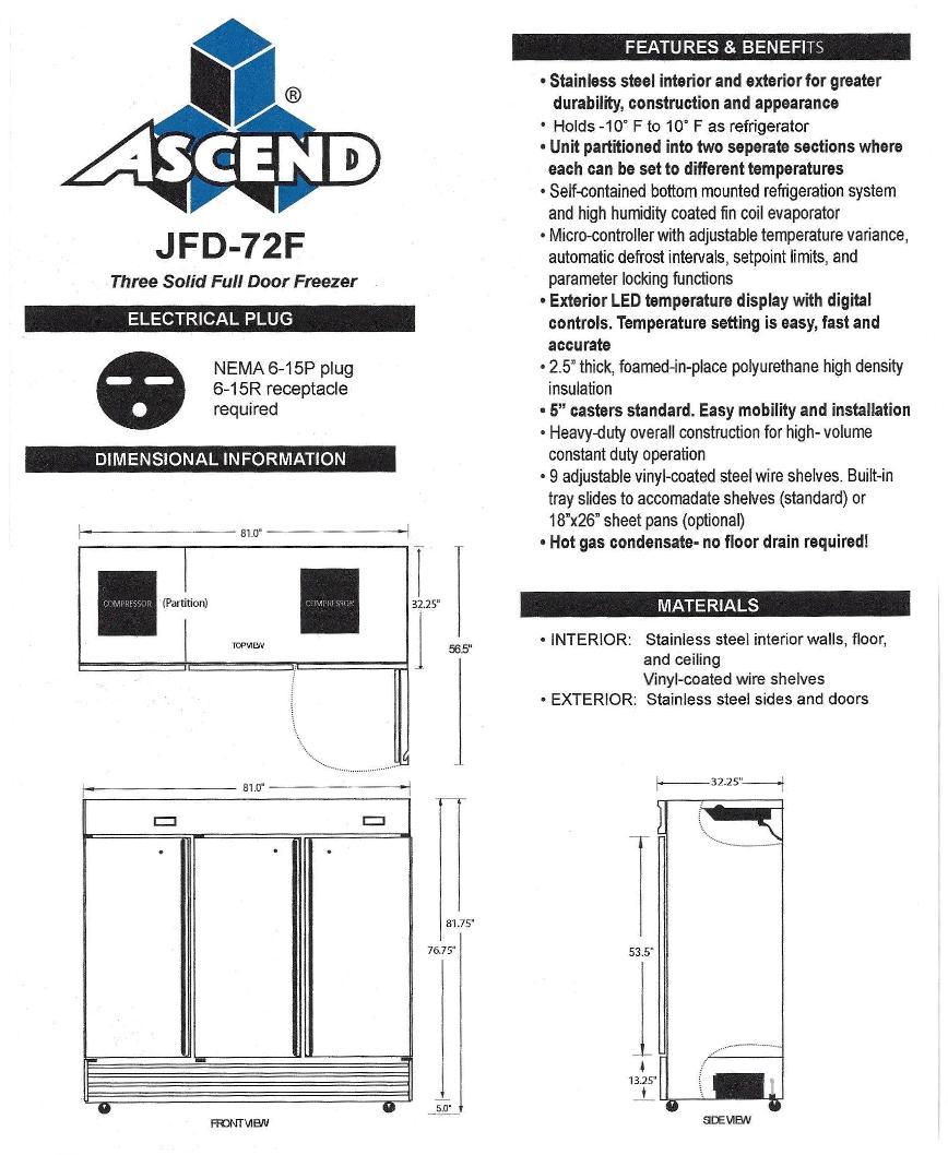 JFD 72-F Spec Sheet2